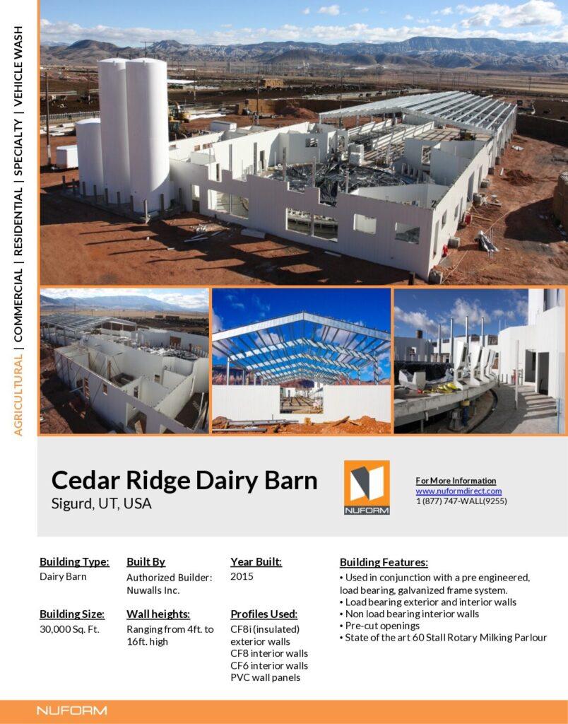 Cedar Ridge Dairy Barn