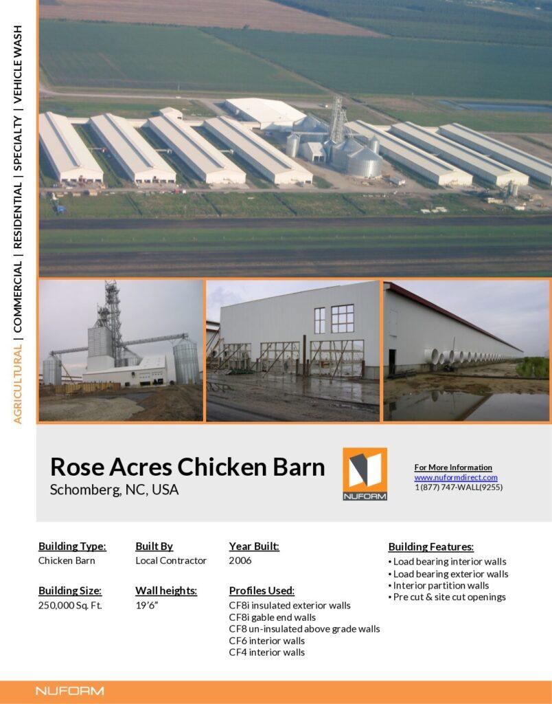 Rose Acres Chicken Barn