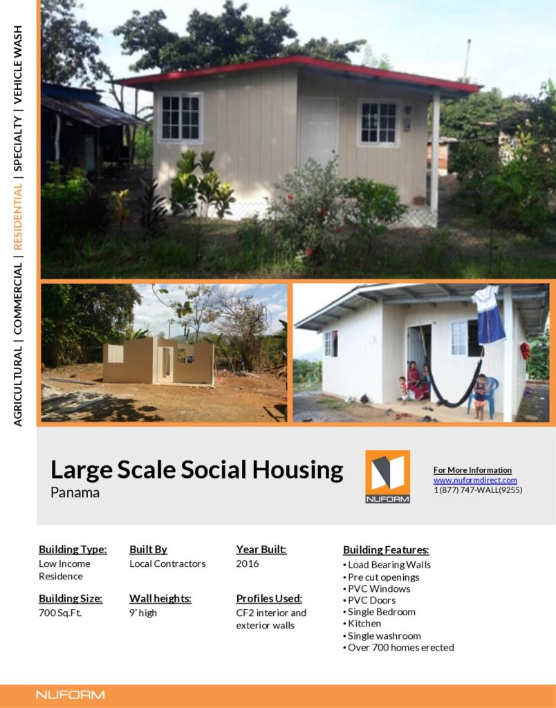Large Scale Social Housing