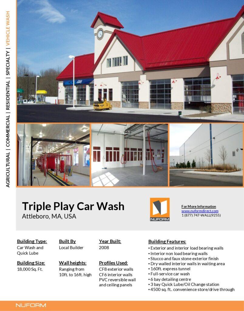Triple Play Car Wash