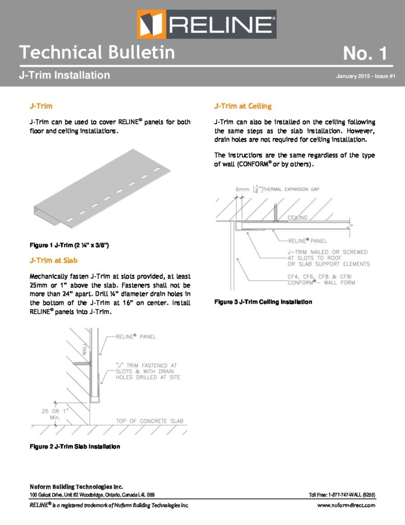 J-Trim Installation