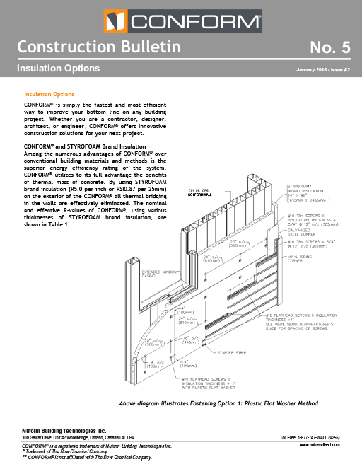 Insulation Options